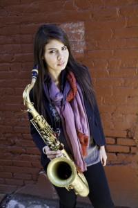 Melissa Aldana saxofonist